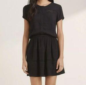 Aritzia Talula Black Kissmet Dress Size XS